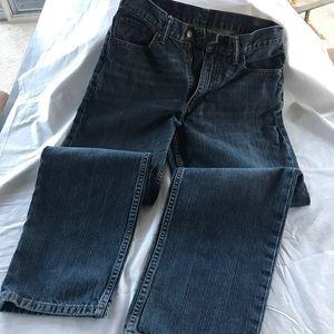 Men's Levi Jeans 550's 30 x 30 Straight Leg EUC